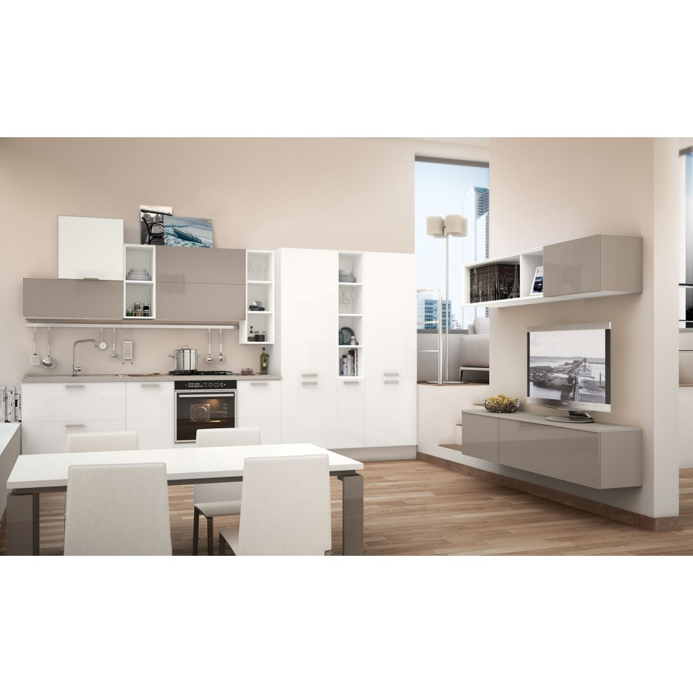 Noemi - Cucina moderna Lube - MobiliMatino
